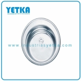 Fregadero YETKA Premium Oval para emportrar