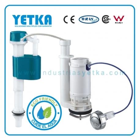 Juego de herraje YETKA Premium dual flush 1 piece