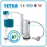 Juego de herraje YETKA Premium dual flush balancin 1 piece