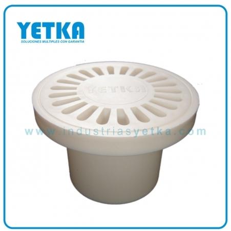 Rejilla PVC sifón 50mm