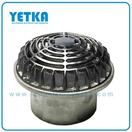 Rejilla cúpula de 110mm