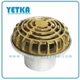 Rejilla cúpula mixta de  75mm
