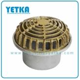 Rejilla cúpula mixta de 110mm