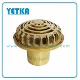 Rejilla cúpula bronce de  50mm