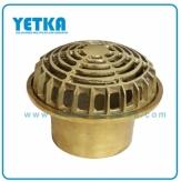 Rejilla cúpula bronce de 110mm